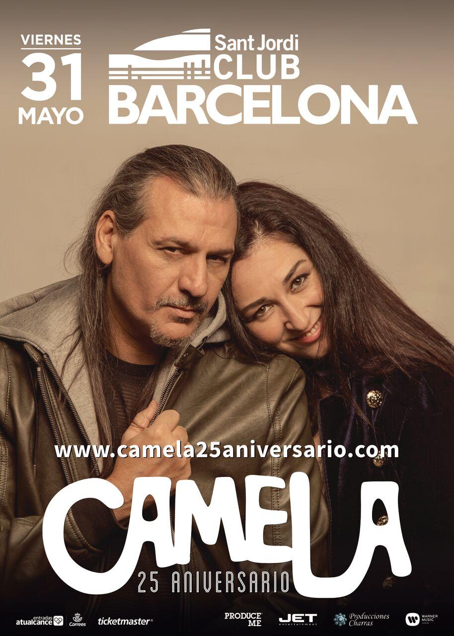 cartel camela BCN